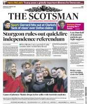 The Scotsman (UK) Newspaper Front Page for 6 February 2019