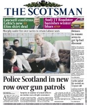 The Scotsman (UK) Newspaper Front Page for 6 March 2015