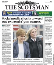 The Scotsman (UK) Newspaper Front Page for 6 March 2018