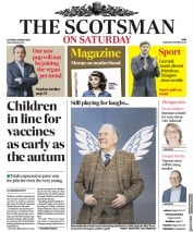 The Scotsman front page for 6 March 2021