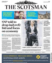 The Scotsman (UK) Newspaper Front Page for 6 April 2017