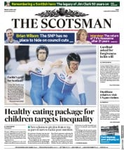The Scotsman (UK) Newspaper Front Page for 6 April 2018