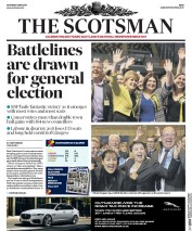 The Scotsman (UK) Newspaper Front Page for 6 May 2017