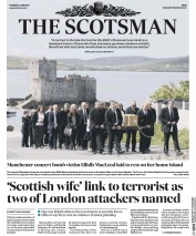 The Scotsman (UK) Newspaper Front Page for 6 June 2017