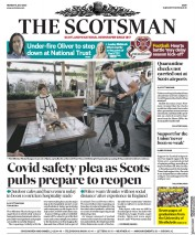 The Scotsman front page for 6 July 2020