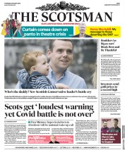 The Scotsman front page for 6 August 2020