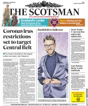 The Scotsman front page for 7 October 2020