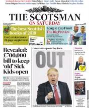 The Scotsman (UK) Newspaper Front Page for 7 December 2019