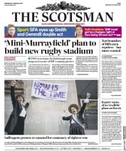 The Scotsman (UK) Newspaper Front Page for 7 February 2018