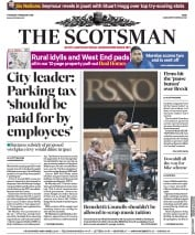 The Scotsman () Newspaper Front Page for 7 February 2019