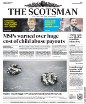 The Scotsman (UK) Newspaper Front Page for 7 March 2017