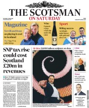The Scotsman (UK) Newspaper Front Page for 7 April 2018