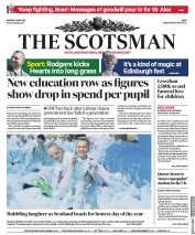 The Scotsman (UK) Newspaper Front Page for 7 May 2018