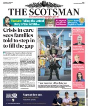 The Scotsman (UK) Newspaper Front Page for 7 June 2018