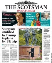 The Scotsman (UK) Newspaper Front Page for 7 July 2018