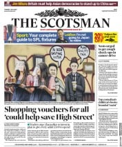The Scotsman front page for 7 July 2020