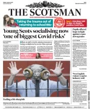 The Scotsman front page for 7 August 2020