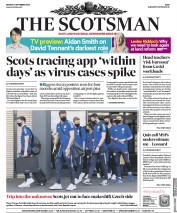The Scotsman front page for 7 September 2020
