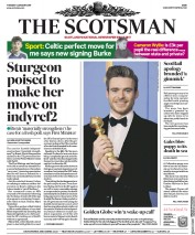 The Scotsman (UK) Newspaper Front Page for 8 January 2019