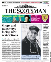 The Scotsman front page for 8 January 2021