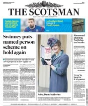 The Scotsman (UK) Newspaper Front Page for 8 March 2017