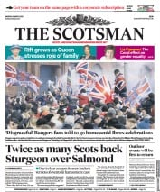 The Scotsman front page for 8 March 2021