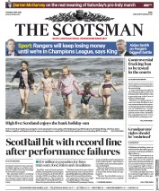The Scotsman (UK) Newspaper Front Page for 8 May 2018