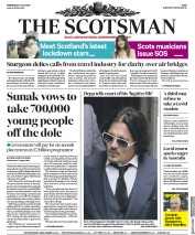The Scotsman front page for 8 July 2020