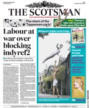 The Scotsman () Newspaper Front Page for 8 August 2019