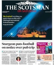 The Scotsman front page for 8 August 2020