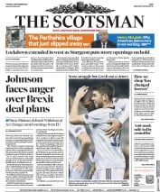 The Scotsman front page for 8 September 2020