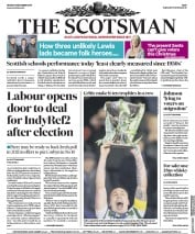 The Scotsman () Newspaper Front Page for 9 December 2019