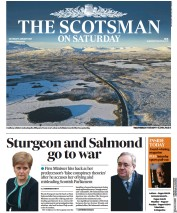 The Scotsman (UK) Newspaper Front Page for 9 January 2021