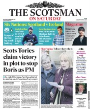 The Scotsman (UK) Newspaper Front Page for 9 February 2019