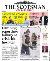 The Scotsman (UK) Newspaper Front Page for 9 March 2019