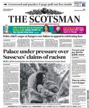 The Scotsman front page for 9 March 2021