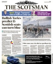 The Scotsman (UK) Newspaper Front Page for 9 May 2017