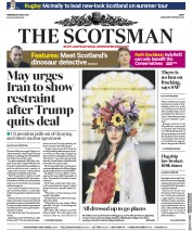 The Scotsman (UK) Newspaper Front Page for 9 May 2018