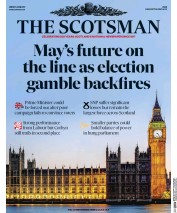 The Scotsman (UK) Newspaper Front Page for 9 June 2017