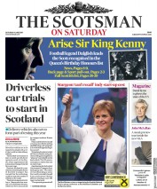 The Scotsman (UK) Newspaper Front Page for 9 June 2018