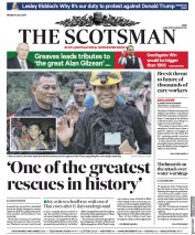 The Scotsman (UK) Newspaper Front Page for 9 July 2018