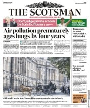 The Scotsman (UK) Newspaper Front Page for 9 July 2019
