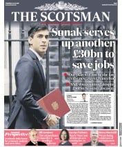 The Scotsman front page for 9 July 2020
