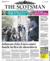 The Scotsman front page for 9 September 2020