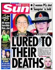 The Sun Newspaper Front Page (UK) for 3 October 2012