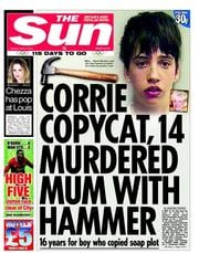 The Sun Newspaper Front Page (UK) for 3 April 2012