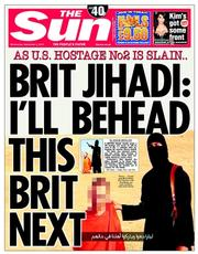The Sun (UK) Newspaper Front Page for 3 September 2014
