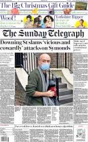 The Sunday Telegraph front page for 15 November 2020