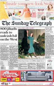The Sunday Telegraph (UK) Newspaper Front Page for 17 February 2019