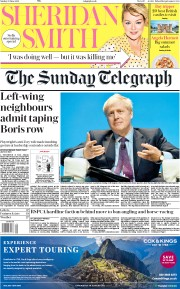The Sunday Telegraph (UK) Newspaper Front Page for 23 June 2019